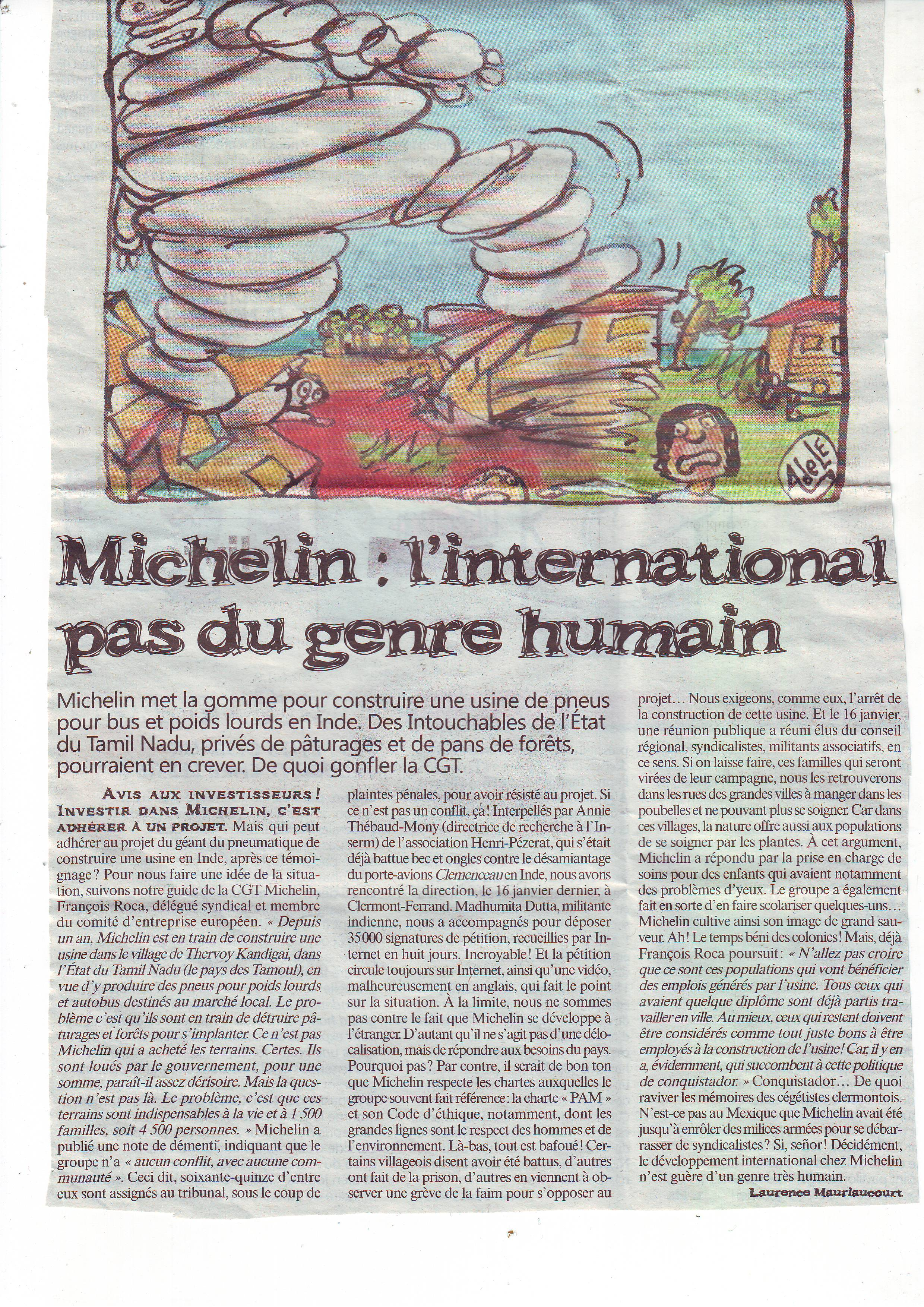 michelin en inde