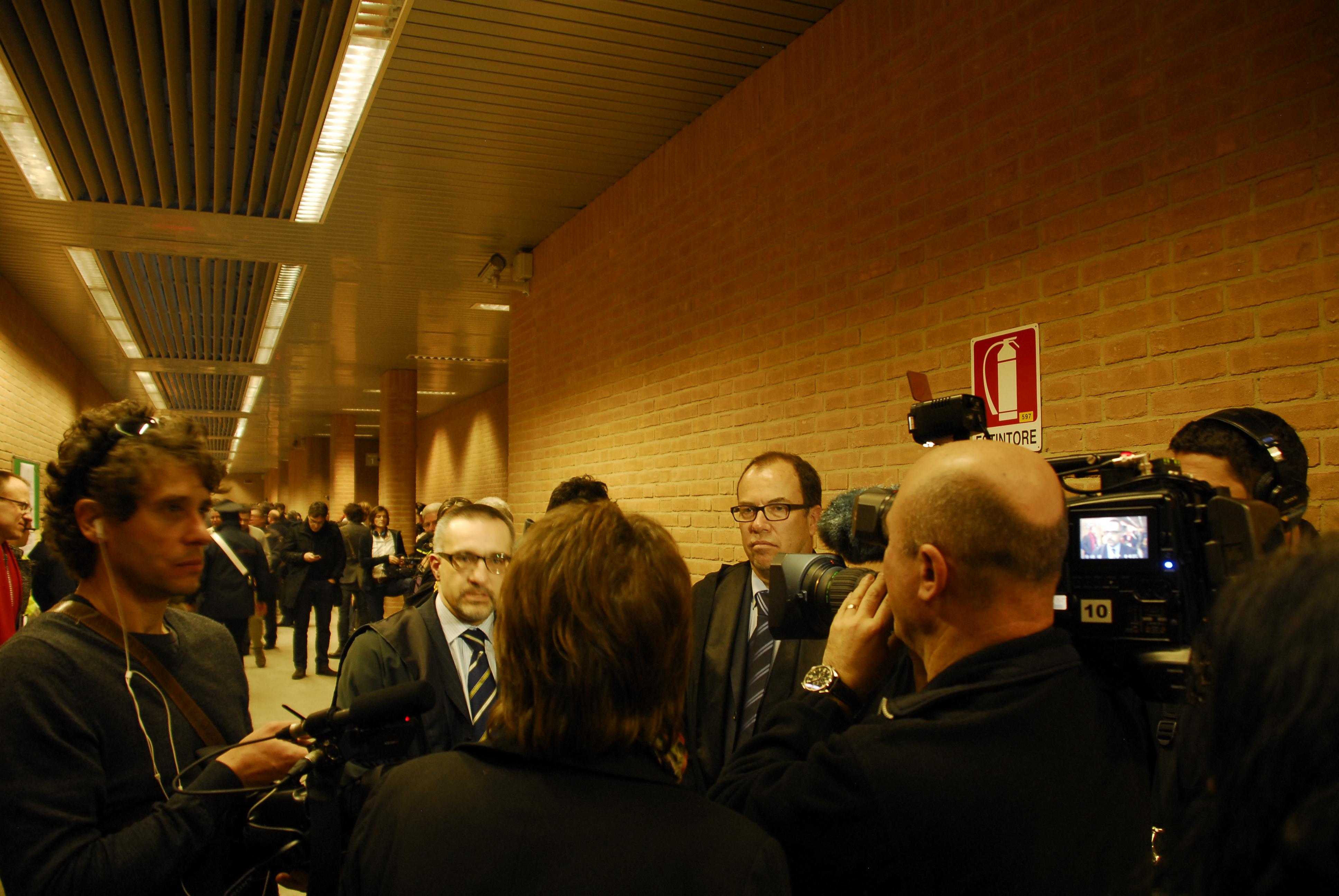 Les avocats suisses ayant participé à la représentation des victimes