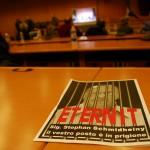 Procès Eternit de Turin, 13 février 2012 - photo Asso. HP