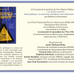 La science asservie : débat le 12 novembre 2014