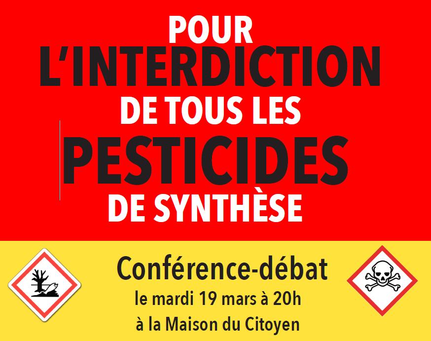 debat pesticides de synthese