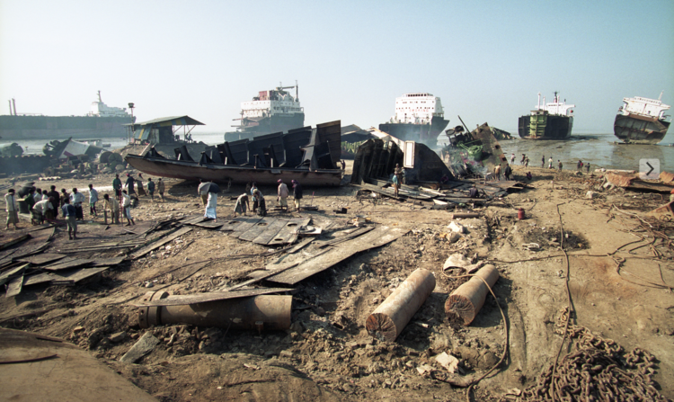 dechets bangladesh