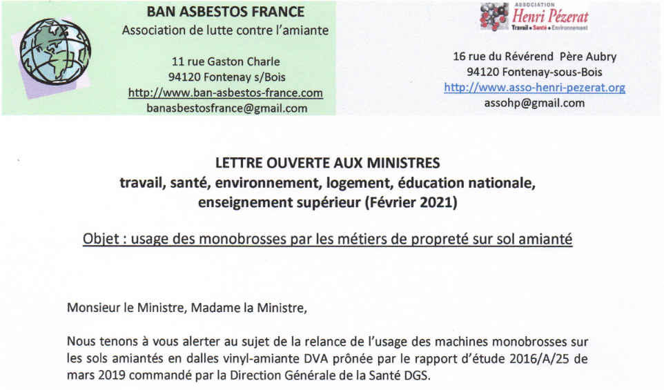 lettre ouverte monobrosses